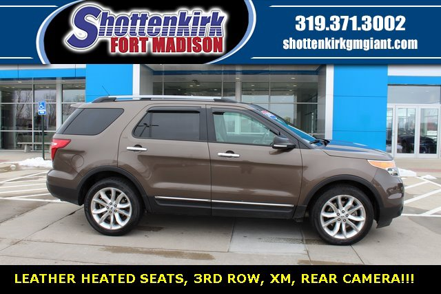 Used 2015 Ford Explorer in Fort Madison, IA