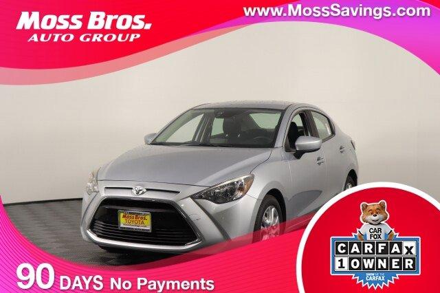 2018 Toyota Yaris iA Base Auto Regular Unleaded I-4 1.5 L/91 [17]