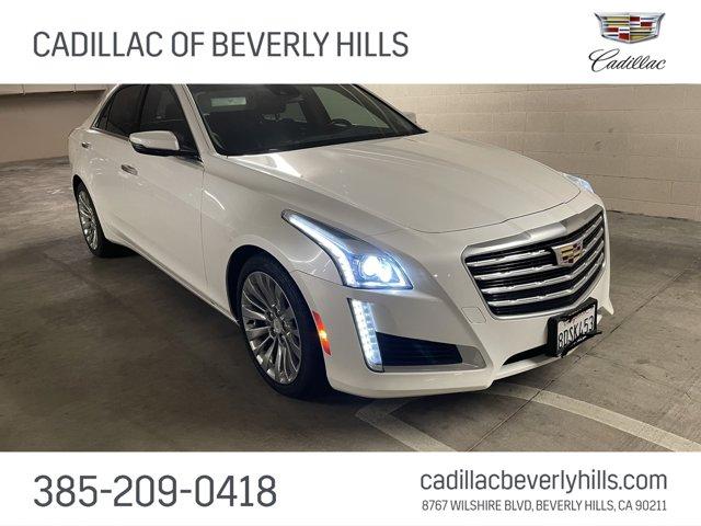 2018 Cadillac CTS Sedan Luxury RWD 4dr Sdn 2.0L Turbo Luxury RWD Turbocharged Gas I4 2.0L/122 [17]