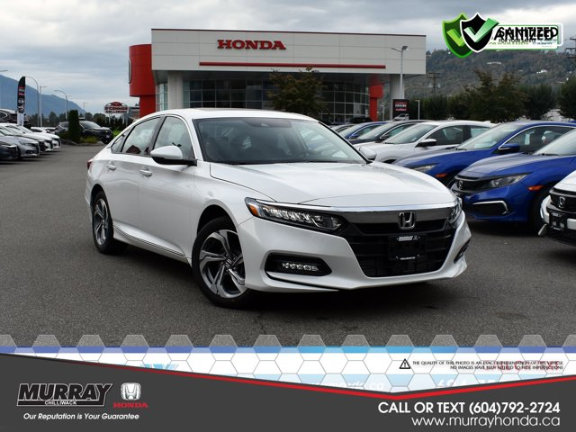 2020 Honda Accord Sedan EX-L EX-L CVT Intercooled Turbo Regular Unleaded I-4 1.5 L/91 [3]