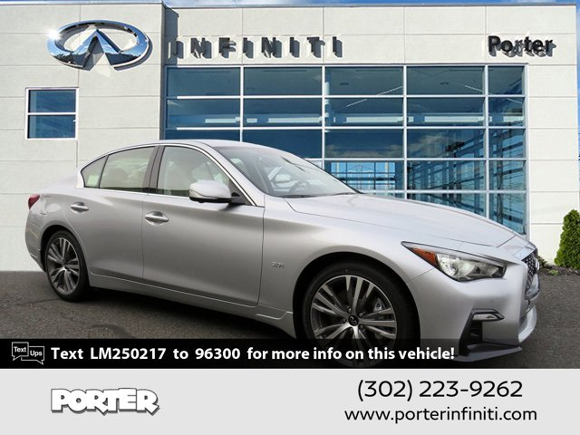2020 INFINITI Q50 3.0t SPORT 3.0t SPORT AWD Twin Turbo Premium Unleaded V-6 3.0 L/183 [5]