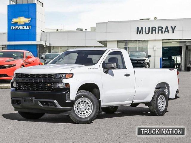 """2021 Chevrolet Silverado 1500 Work Truck 4WD Reg Cab 140"""" Work Truck Gas V8 5.3L/325 [9]"""