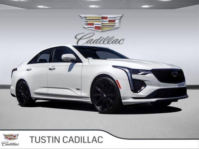 2020 Cadillac CT4 V-Series 4dr Sdn V-Series Turbocharged I4 2.7L/ [14]