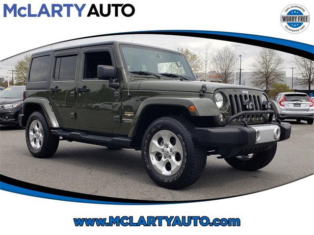 Used 2015 Jeep Wrangler Unlimited in , AR