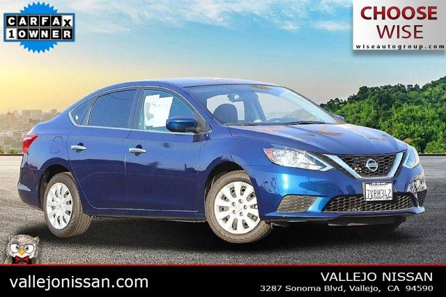 2017 Nissan Sentra S S CVT Regular Unleaded I-4 1.8 L/110 [14]