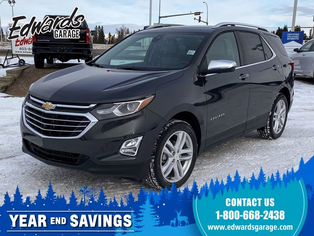 2021 Chevrolet Equinox Premier Htd/Cld Lthr Adaptive Cruise AWD 4dr Premier Turbocharged Gas I4 1.5L/92 [18]