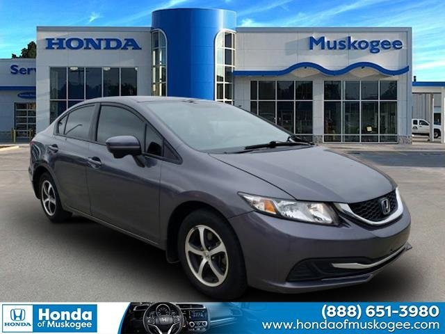 Used 2015 Honda Civic Sedan in Muskogee, OK
