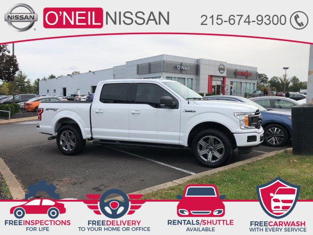 2018 Ford F-150 XLT XLT 4WD SuperCrew 5.5′ Box Twin Turbo Regular Unleaded V-6 2.7 L/164 [0]