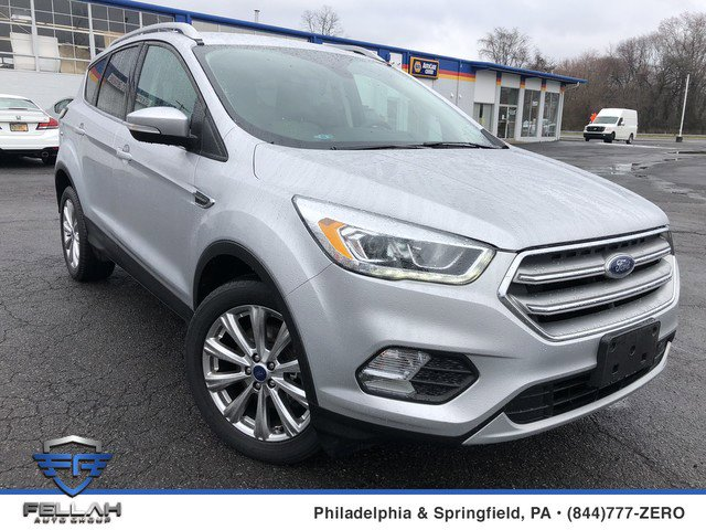 2017 Ford Escape Titanium Turbocharged Four Wheel Drive Power Steering ABS 4-Wheel Disc Brakes