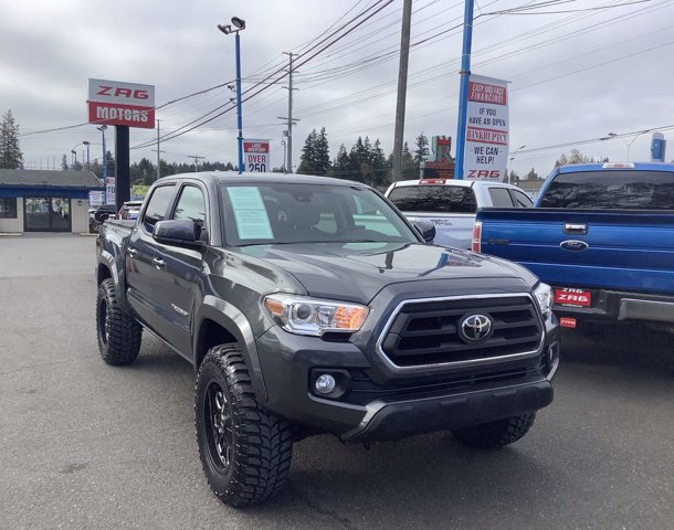 Used 2020 Toyota Tacoma 4WD SR5 Double Cab 5' Bed V6 AT