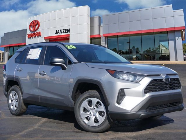 New 2020 Toyota RAV4 in Stillwater, OK
