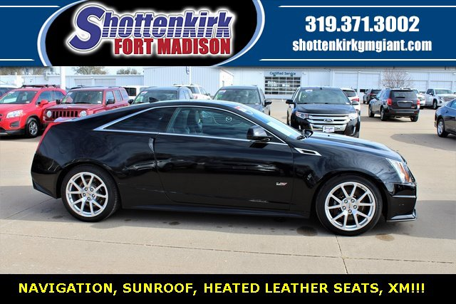 Used 2014 Cadillac CTS-V Coupe in Fort Madison, IA