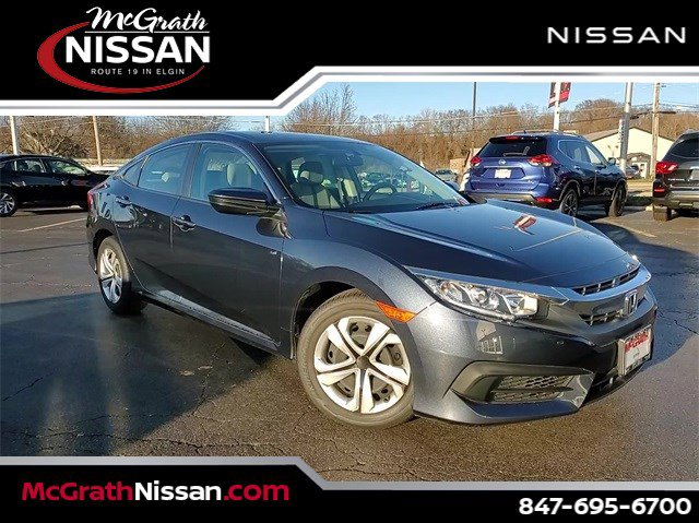 2017 Honda Civic Sedan LX LX CVT Regular Unleaded I-4 2.0 L/122 [18]