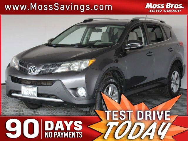 2015 Toyota RAV4 XLE FWD 4dr XLE Regular Unleaded I-4 2.5 L/152 [1]