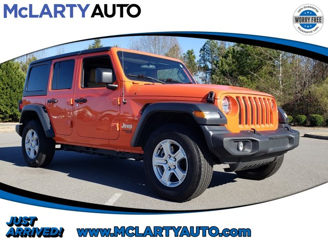 Used 2019 Jeep Wrangler Unlimited in North Little Rock, AR