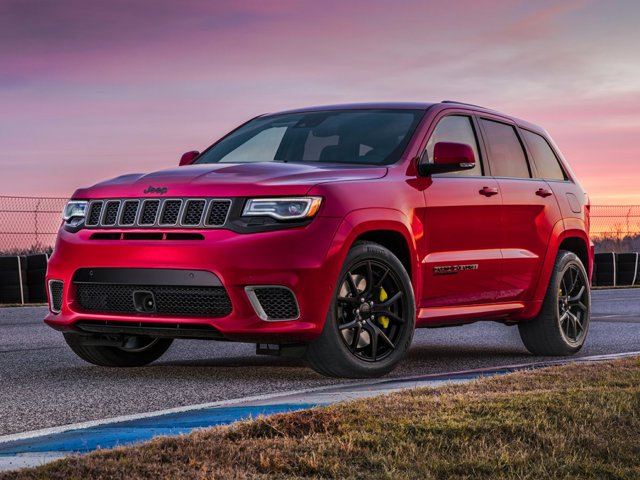 2018 Jeep Grand Cherokee Trackhawk Trackhawk 4x4 *Ltd Avail* Intercooled Supercharger Premium Unleaded V-8 6.2 L/376 [8]