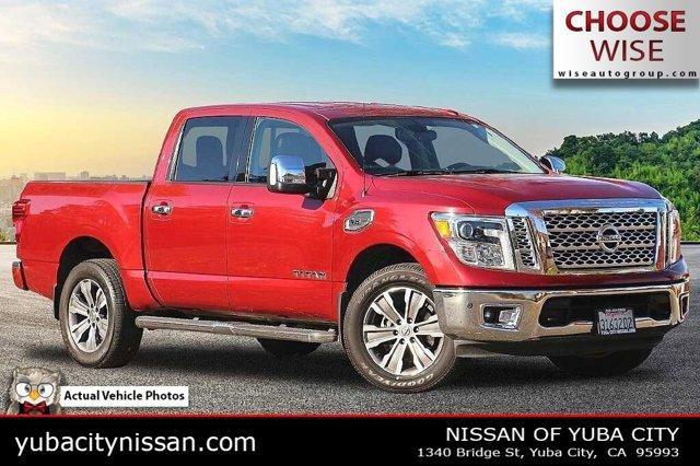 2017 Nissan Titan SL 4x4 Crew Cab SL Regular Unleaded V-8 5.6 L/339 [0]