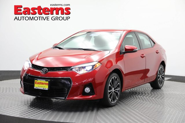 2016 Toyota Corolla S Plus 4dr Car