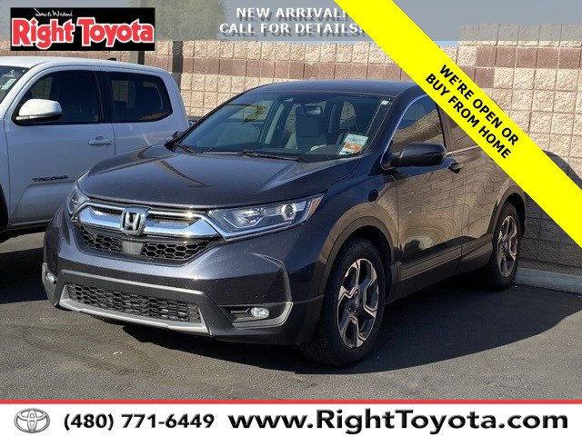 2018 Honda CR-V EX-L  Intercooled Turbo Regular Unleaded I-4 1.5 L/91 [3]