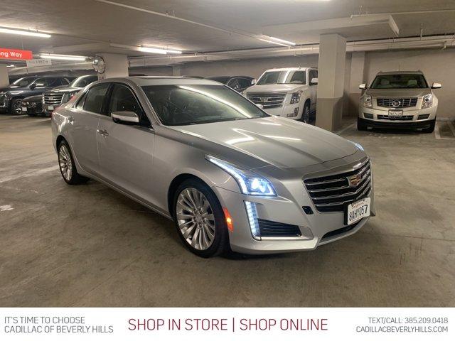 2018 Cadillac CTS Sedan Luxury RWD 4dr Sdn 2.0L Turbo Luxury RWD Turbocharged Gas I4 2.0L/122 [3]