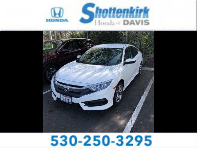 Used 2016 Honda Civic Sedan in Davis, CA