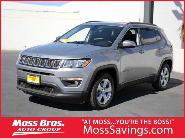 2018 Jeep Compass Latitude Latitude FWD Regular Unleaded I-4 2.4 L/144 [2]