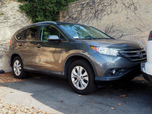 2014 Honda CR-V EX-L  Regular Unleaded I-4 2.4 L/144 [6]
