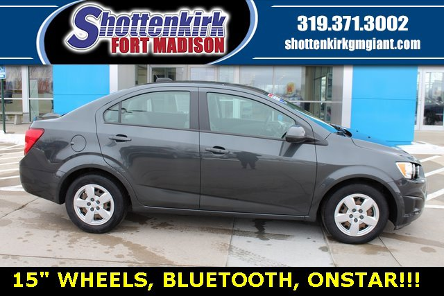 Used 2016 Chevrolet Sonic in Fort Madison, IA