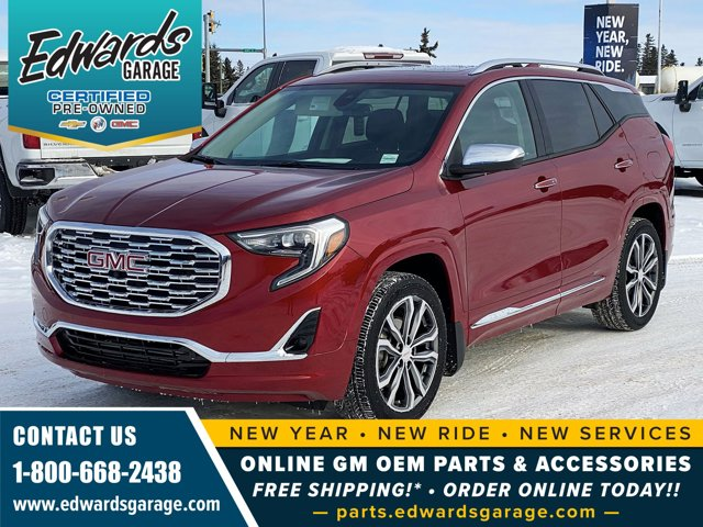 2018 GMC Terrain Denali Htd/Cld Lthr Sunroof Htd 2nd Row AWD 4dr Denali Turbo Gas/Ethanol I4 2.0L/ [10]