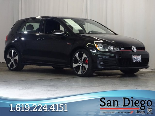 Used 2017 Volkswagen Golf GTI in Chula Vista, CA