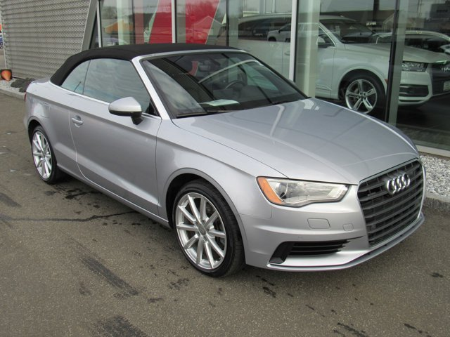 2016 Audi A3 20T Premium Plus FLORETT SILVER METALLICBLACK ROOF TECHNOLOGY PACKAGE  -inc Audi c