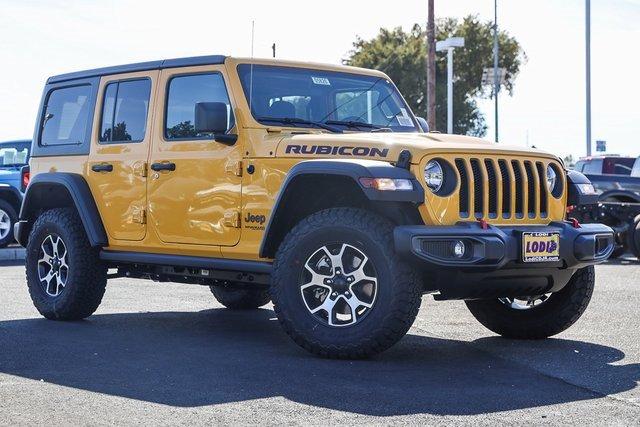2021 Jeep Wrangler Rubicon Rubicon Unlimited 4x4 Intercooled Turbo Premium Unleaded I-4 2.0 L/122 [14]