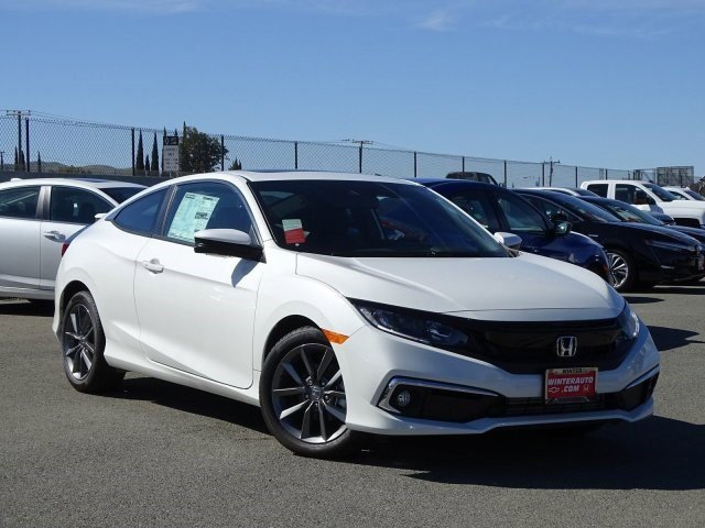 2019 Honda Civic Coupe EX EX CVT Intercooled Turbo Regular Unleaded I-4 1.5 L/91 [1]