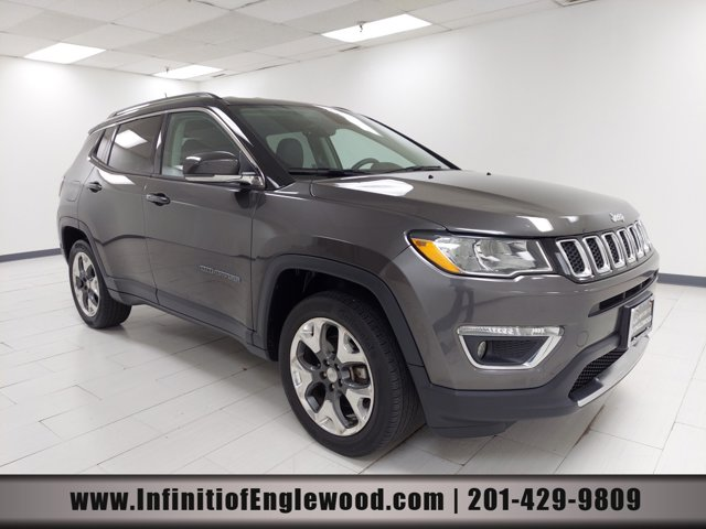 2018 Jeep Compass Limited Limited 4x4 Regular Unleaded I-4 2.4 L/144 [1]