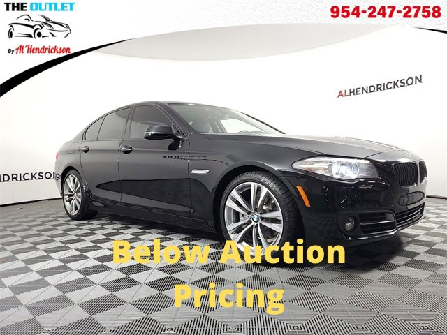 Used 2016 BMW 5 Series in Coconut Creek, FL