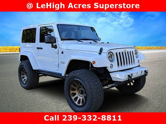 Used 2017 Jeep Wrangler in Lehigh Acres, FL