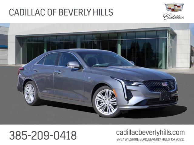 2021 Cadillac CT4 Premium Luxury 4dr Sdn Premium Luxury Turbocharged I4 2.0L/ [2]