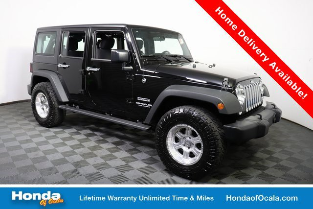 Used 2017 Jeep Wrangler Unlimited in Ocala, FL