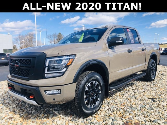 New 2020 Nissan Titan in Jackson, MI