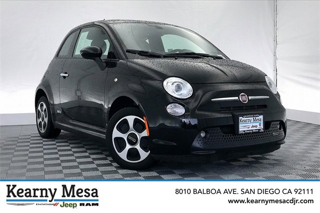 Used 2017 FIAT 500e in San Diego, CA