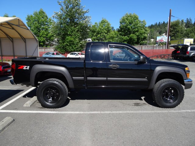 Used 2007 Chevrolet Colorado 4WD Ext Cab 125.9 LT w-2LT