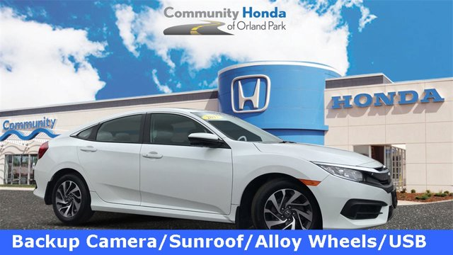 Used 2017 Honda Civic Sedan in Orland Park, IL