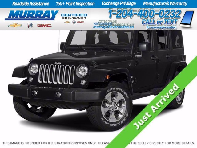 2018 Jeep Wrangler JK Unlimited Sahara Sahara 4x4 Regular Unleaded V-6 3.6 L/220 [1]