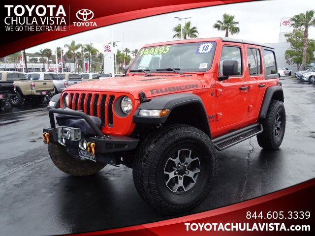 Used 2018 Jeep Wrangler Unlimited in San Diego, CA