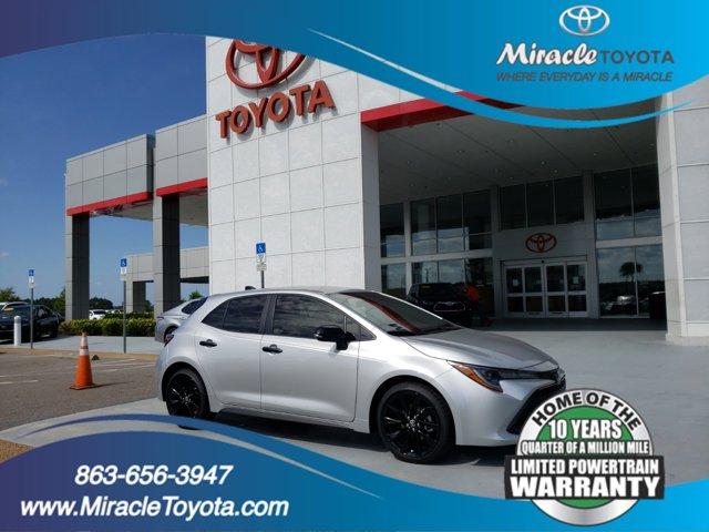 New 2020 Toyota Corolla Hatchback in Haines City, FL