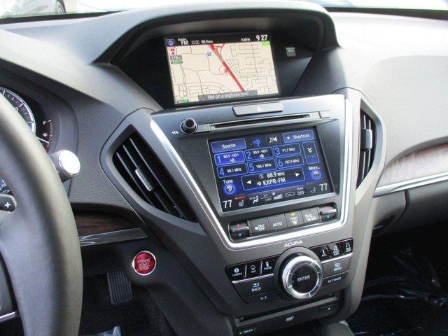 New 2017 Acura MDX FWD w-Advance-Entertainment Pkg