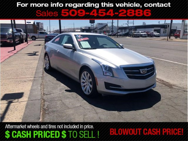Used 2015 Cadillac ATS Coupe 2dr Cpe 2.0L Standard AWD