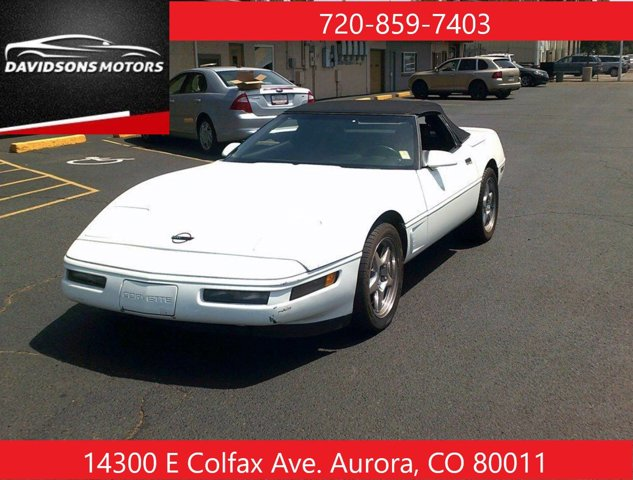 The 1992 Chevrolet Corvette photos