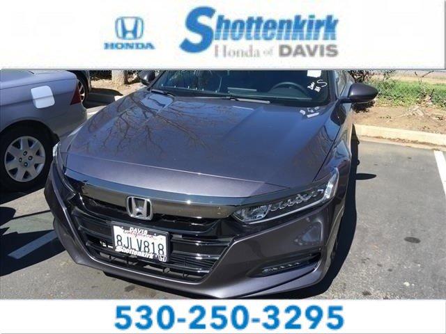 Used 2019 Honda Accord Sedan in Davis, CA