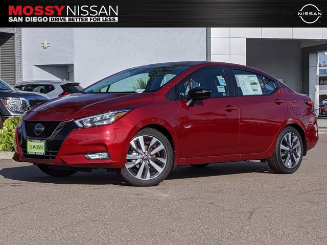 2020 Nissan Versa Sedan SR SR CVT Regular Unleaded I-4 1.6 L/98 [8]